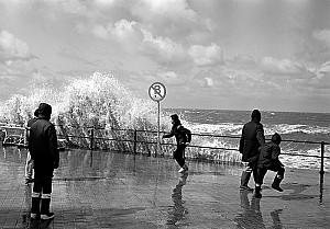 Tempête à Ostende.